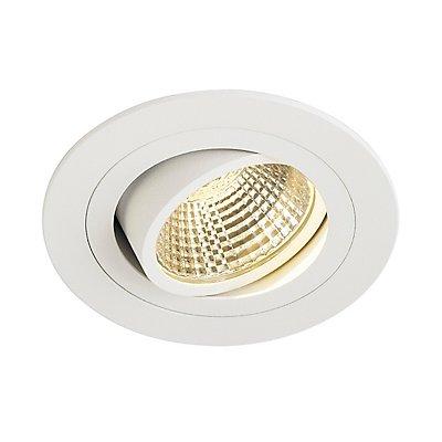 NEW TRIA LED DL ROUND Set Downlight, 6 Watt, 38°,3000K, inkl. Treiber und Clipfedern