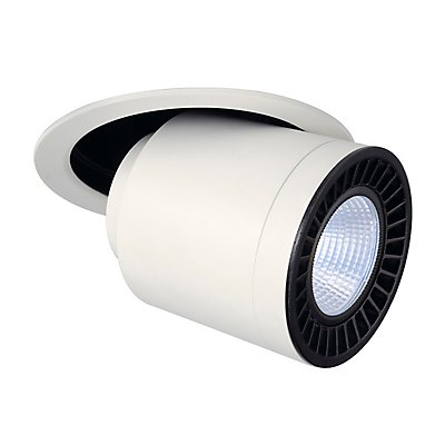 SUPROS MOVE Deckeneinbauleuchte, rund, 3000lm, 4000K, SLM LED, 60° Reflektor
