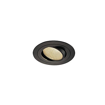 NEW TRIA LED DL ROUND Set, 12 Watt, 38°, inkl. Treiber, Clipfedern