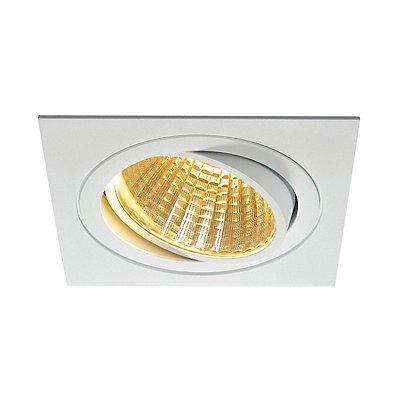 NEW TRIA LED DL SQUARE Set, 25 Watt, 30°,2700K, inkl. Treiber, Clipfedern