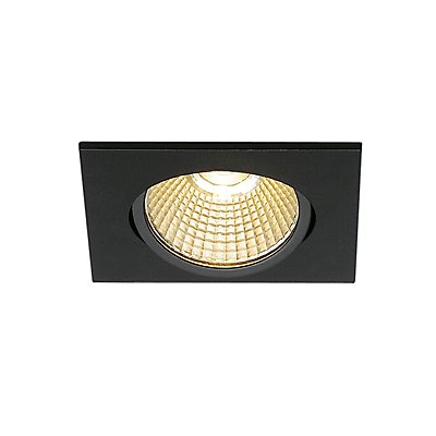 NEW TRIA 68 LED DL SQUARE Set, 9 Watt, 38°, 3000K, inkl. Treiber