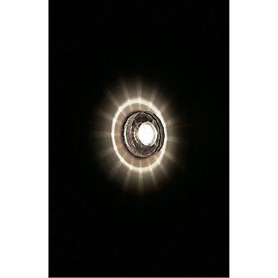 CRYSTAL II Downlight,chrom/Kristall klar, MR16,max. 35W