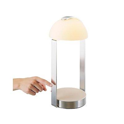 BRENDA, Tischleuchte, LED,weiss/ silber