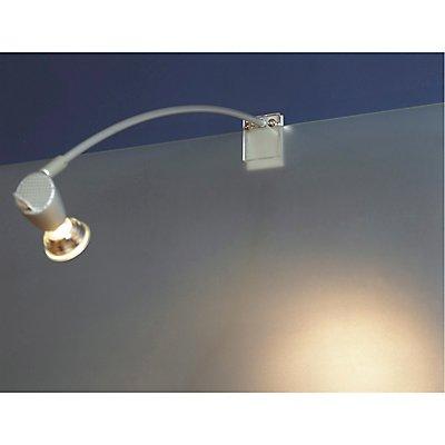 FILI Displayleuchte, silber-grau, GU10, max. 75W,mit Klemme