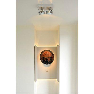 KALU 2 Wand- und Deckenleuchte, 2xQRB111, max. 50 Watt