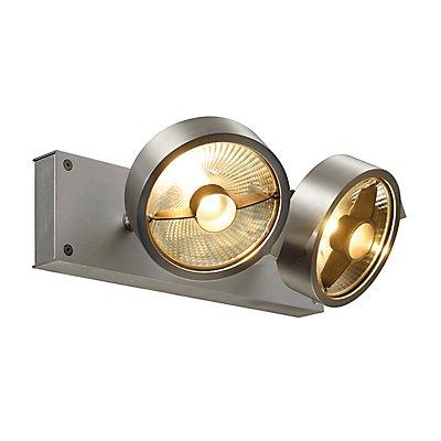 KALU 2 QPAR Deckenleuchte, ES111, max. 2x75 Watt