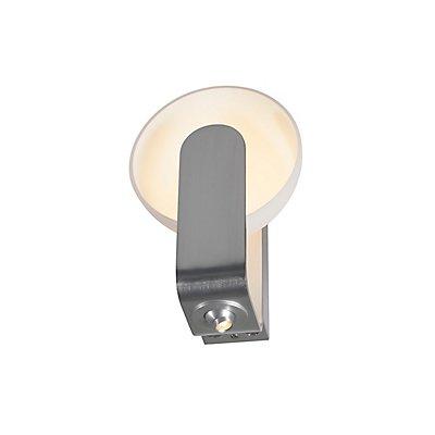BRENDA, Wandleuchte, LED,weiss/ silber, mit verstell-barer LED