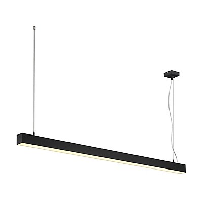 Q-LINE DALI SINGLE LED, Pendelleuchte, dimmbar, 1500mm