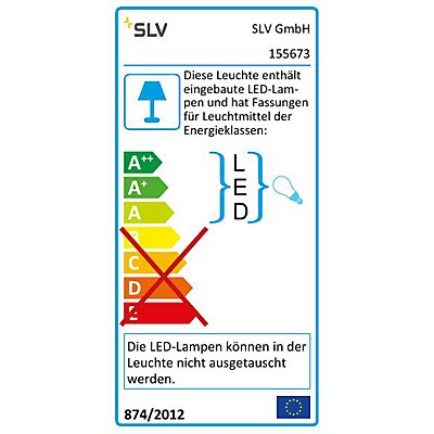 ACCANTO LED Spot Wandleuchte, E27, LED 3000K, max. 24 Watt