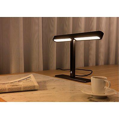 VINCELLI 2, Tischleuchte, LED, 2700K, Bambus dunkel