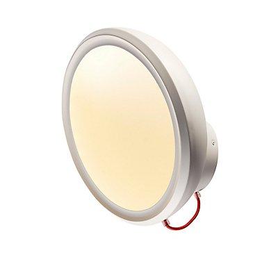 IRING WALL Wandleuchte, rund,mattweiss, 72SMD LED, 14W,3000K