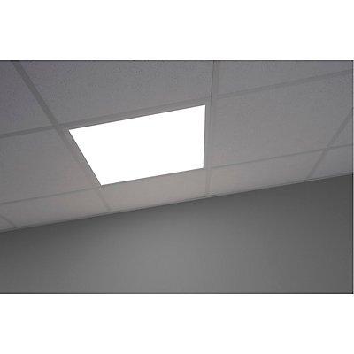 I-VIDUAL LED Panel für Rasterdecken, 620x620mm, mattweiss