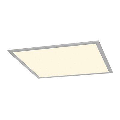 I-VIDUAL, LED-Panel für Rasterdecken, silbergrau, L/B 61,7/61,7 cm