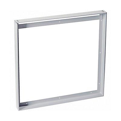 AUFBAURAHMEN, für I-VIDUAL LED-Panel, silbergrau, L/B 62,5/62,5 cm