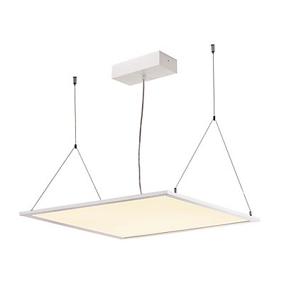 I-VIDUAL LED Panel für Rasterdecken, 600x600mm, UGR<19,3000K, weiss