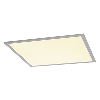 I-VIDUAL LED Panel für Rasterdecken, 620x620mm, UGR<19,3000K, silber