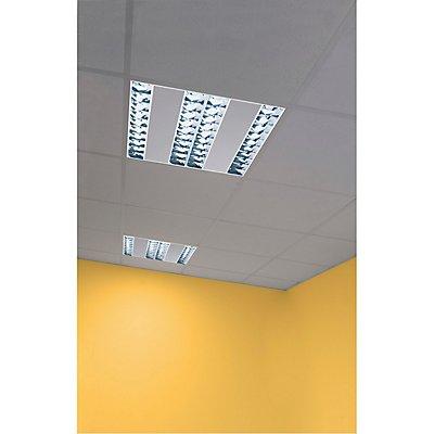 RASTO, Deckeneinbauleuchte für Rasterdecken, LED, 4000K, weiß, L/B 59,6/59,6 cm, 4000lm, 36W