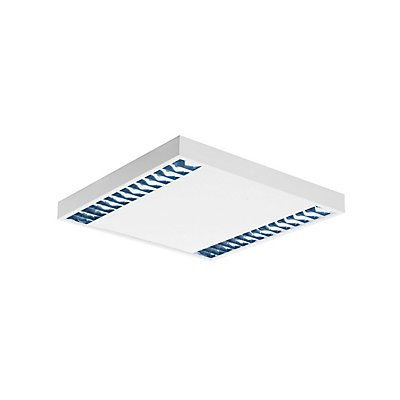 RASTO, Deckenleuchte, zweiflammig, LED, 4000K, weiß, L/B/H 60,4/60,4/5,8 cm, 4000lm, 38W