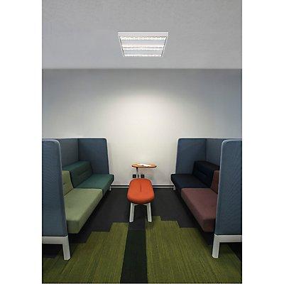 RASTO, Deckenleuchte, vierflammig, LED, 4000K, weiß, L/B/H 60,4/60,4/5,8 cm, 4000lm, 38W