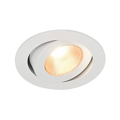 CONTONE Downlight, schwenkbar, weiss,13 Watt LED, warmweiss