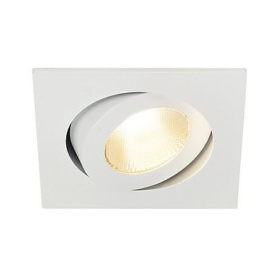CONTONE Downlight, schwenkbar, weiss,13 Watt LED, warmweiss