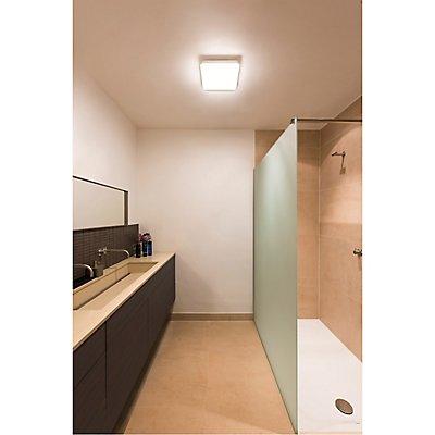 SIMA, Wand- und Deckenleuchte, LED, 3000K, eckig, mit RF-Sensor