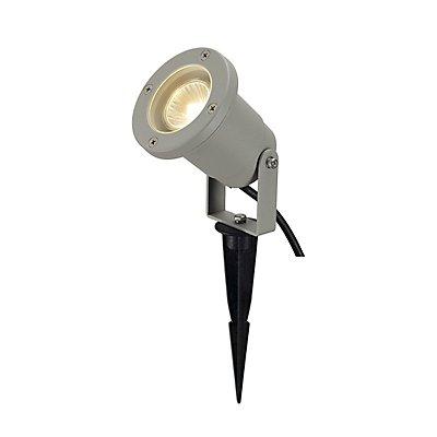 NAUTILUS SPIKE, rund, silber-grau, GU10, max. 35W, inkl.3m Zuleitung ohne Stecker