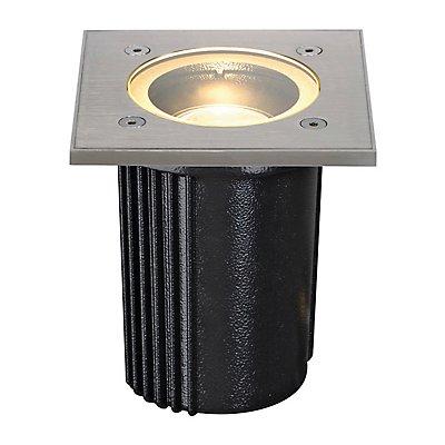 DASAR EXACT GU10 Bodeneinbau-leuchte, rund, Edelstahl 316,max. 35W, IP67