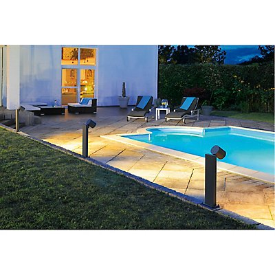 ENOLA_C OUT POLE Stehleuchte,anthrazit, 9W LED, 35°, 3000K