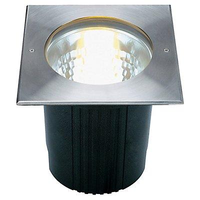 DASAR 215 UNI Bodeneinbau-leuchte, rund, Edelstahl 316,E27, max. 80W, IP67