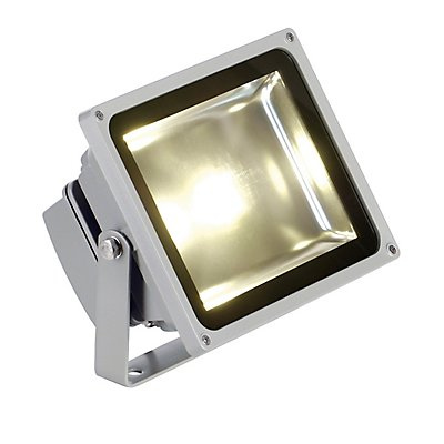 LED OUTDOOR BEAM, silbergrau,30W, weiss, 100°, IP65