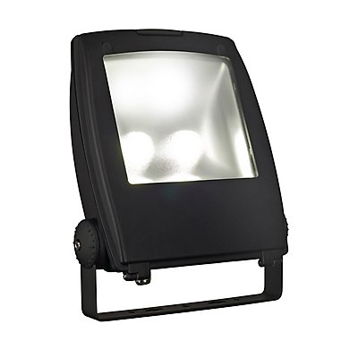 LED FLOOD LIGHT 80W, schwarz,3000K, 90°