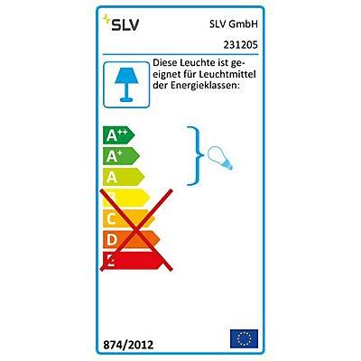 GRAFIT Wandleuchte, WL,anthrazit / weiss, E27 ESL,max. 11W, IP44