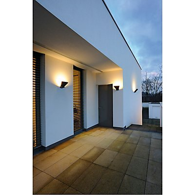 TRAPECCO WALL UP Wandleuchte,anthrazit, LED