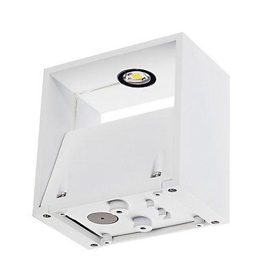 LOGS WALL Wandleuchte, eckig,weiss, 6W LED, warmweiss
