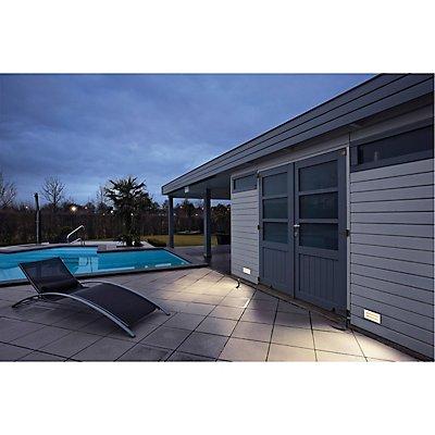 BRICK, Outdoor Wandeinbauleuchte, LED, 3000K, edelstahl, IP67, 230V, 950lm 10W