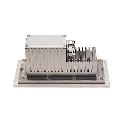 BRICK, Outdoor Wandeinbauleuchte, Pro LED, 3000K, edelstahl, 230V, IP67, 850lm, 10W