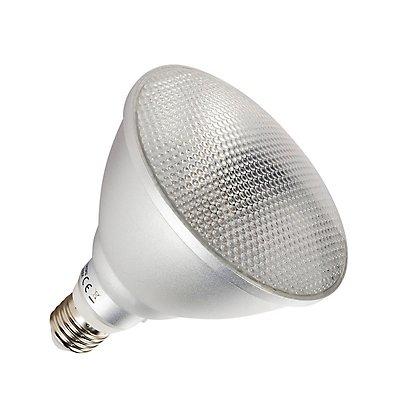COB LED Retrofit , PAR38,Leuchtmittel, E27, 3000K,anodized aluminium
