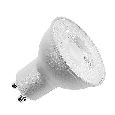 QPAR51 Retrofit LED Leucht-mittel, 10W, GU10, 2700K,570lm, dimmbar, silbergrau