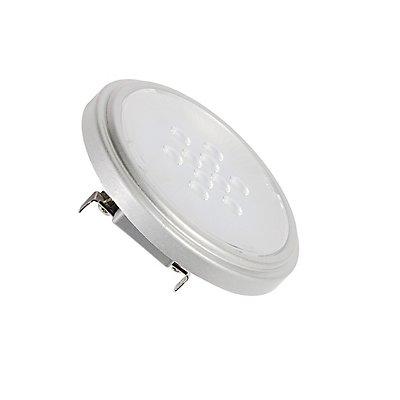 QR111 Retrofit LED Leuchtmittel, G53, 2700K, 25°,silbergrau