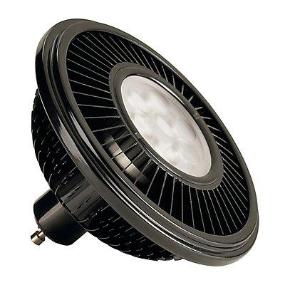 LED ES111 Leuchtmittel,schwarz, 17W, 30°, 2700K,dimmbar