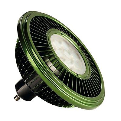 LED ES111 Leuchtmittel,grün, 17W, 30°, 2700K,dimmbar