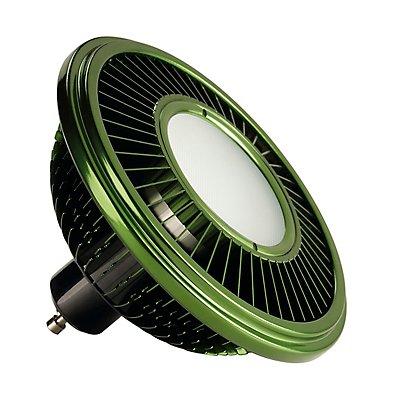 LED ES111 Leuchtmittel,grün, 17W, 140°, 2700K,dimmbar
