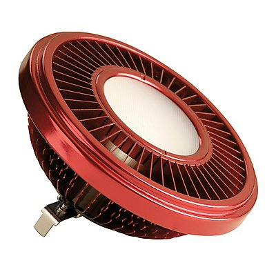 LED QRB111 Leuchtmittel,rot, 19,5W, 140°, 2700K,dimmbar