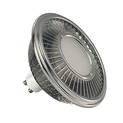 LED ES111 Leuchtmittel,silber, 15W, 140°, 2700K
