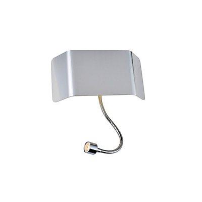 MANA LED Wandleuchte spot 200, 3000K, weiss/chrom