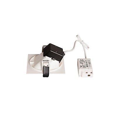 VERLUX LED Deckeneinbauleuchte, asymmetrisch, weiss, 3000K, 10W