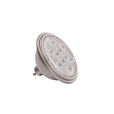 LED QPAR111 GU10 Leuchtmittel, 13°, silbergrau, 2700K, 730lm