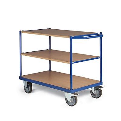 Certeo Tischwagen | 350 kg | HxBxT 825 x 500 x 965 mm