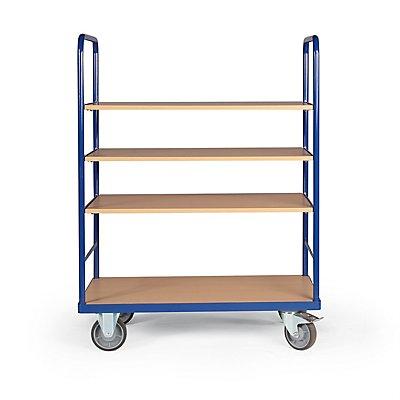 Certeo Etagenwagen | 500 kg | HxBxT1460 x 500 x 1040 mm